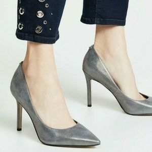 Sam Edelman Metallic Hazel Pumps Wide